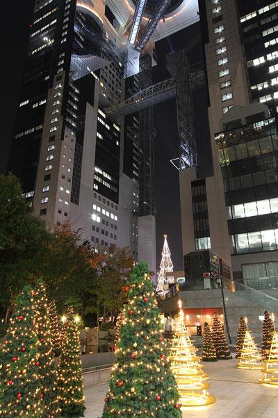 新梅田のクリスマス2009a
