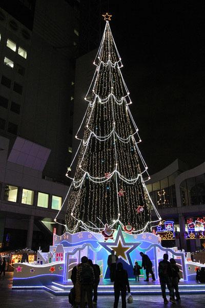 新梅田のクリスマス2009c