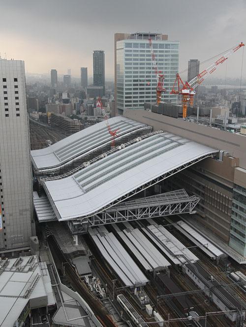 大阪駅のドーム屋根