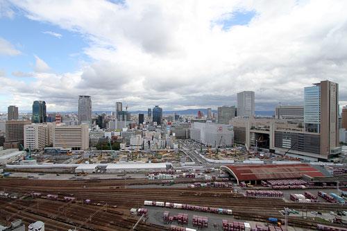 梅田北ヤード全景2010年10月
