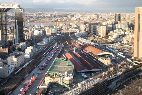梅田北ヤード(南西方向から)201012