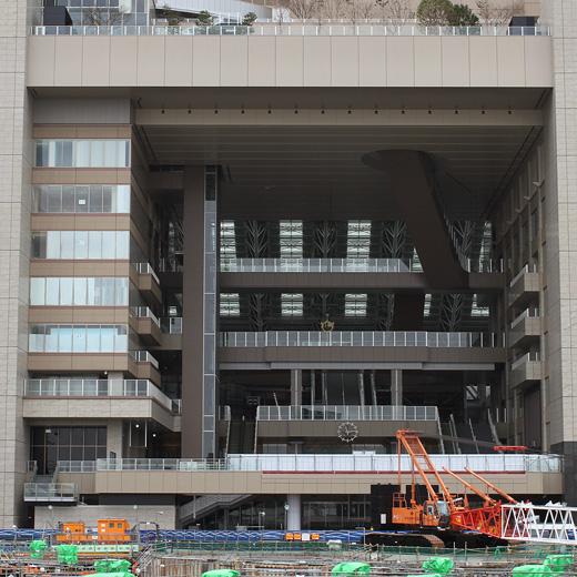 大阪駅中央北口2010年大晦日