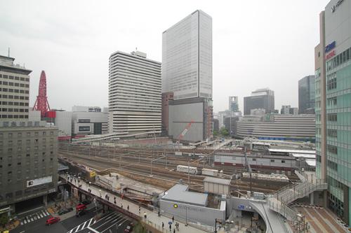 ヨドバシ梅田8Fから梅田阪急ビル