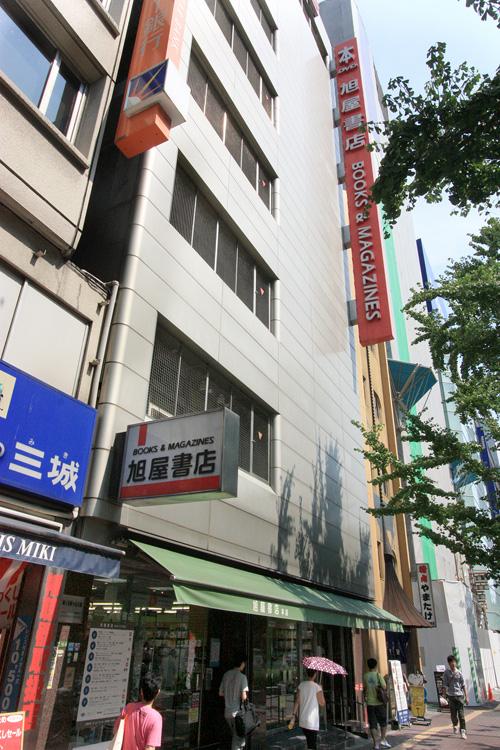 旭屋書店本店2011