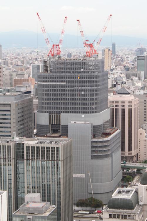 フェスティバルタワー2011年8月