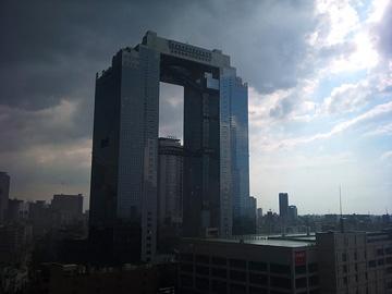 梅田_集中豪雨20110827