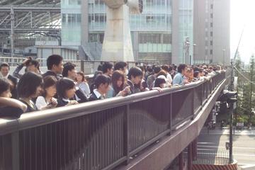阪急-JR 陸橋1