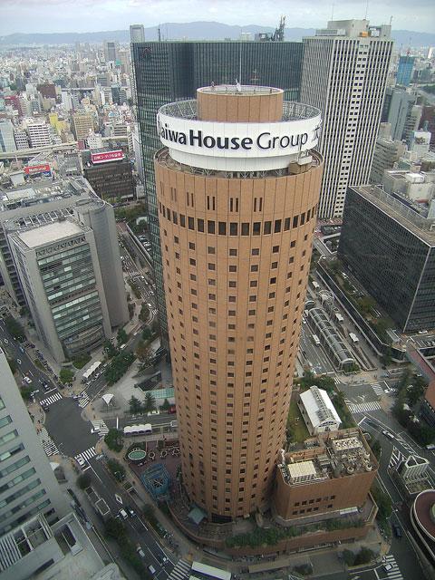 ヒルトン大阪から大阪マルビル ※2005年9月