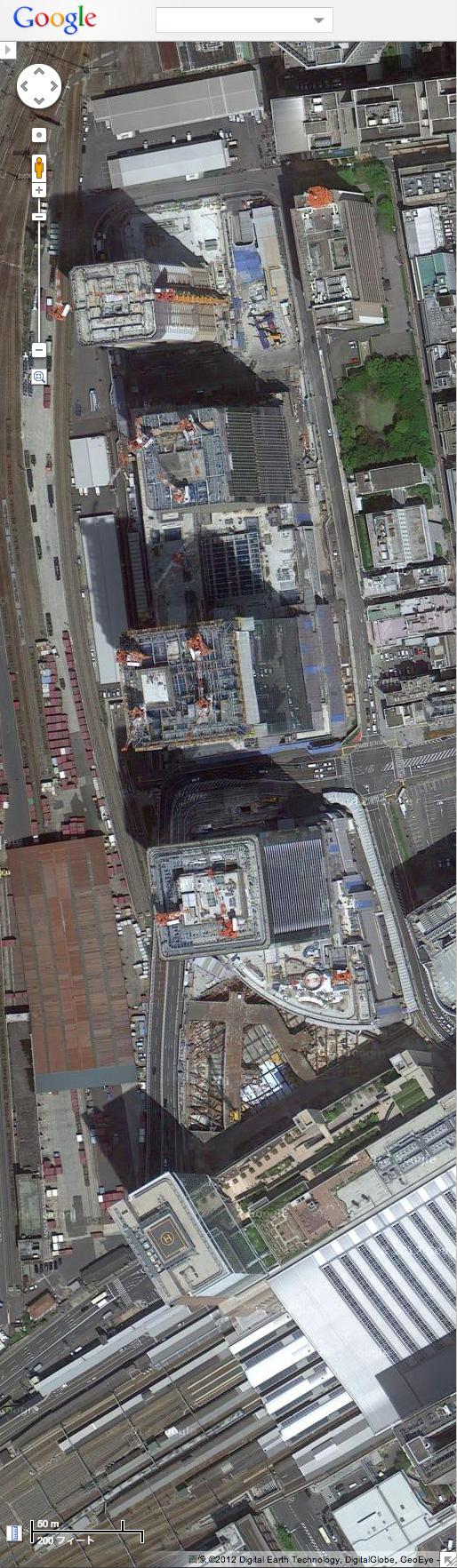 うめきたGoogleMap2012
