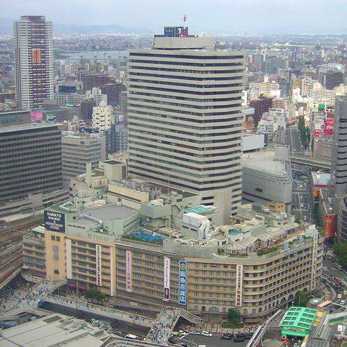 梅田阪急ビル2005年