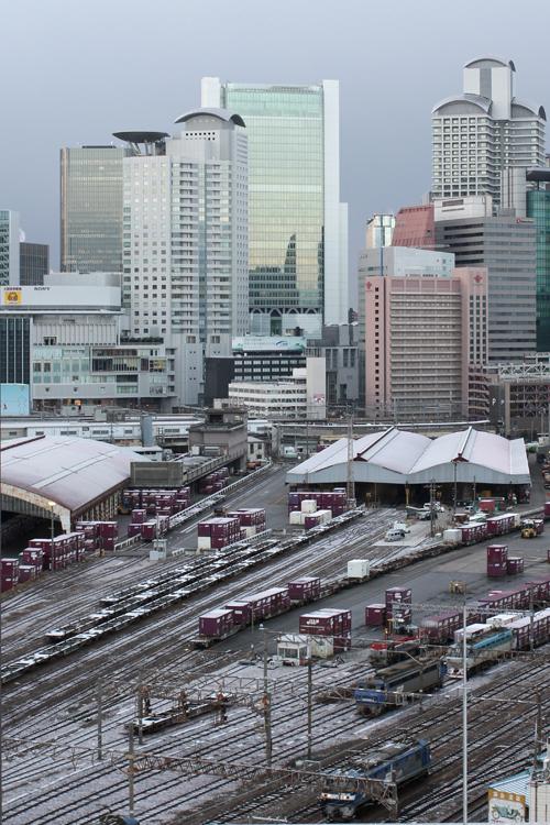 梅田貨物駅2013年2月8日