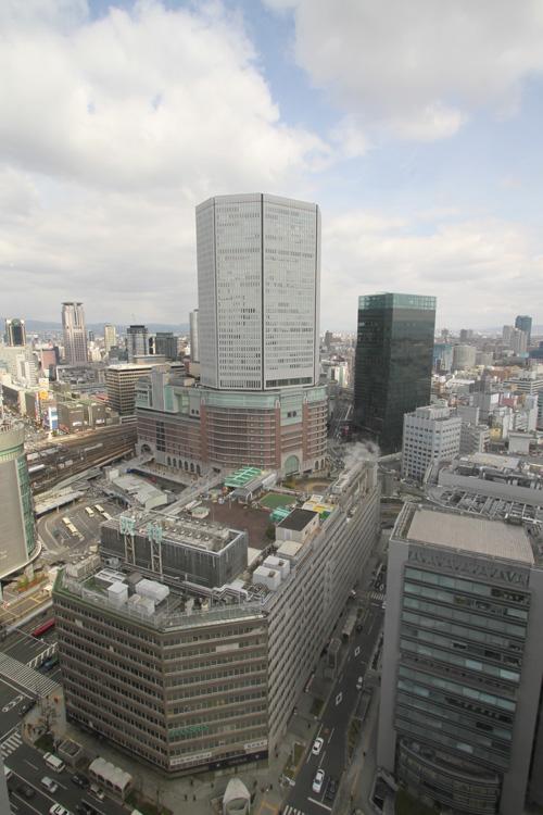 マルビル30Fから阪神百貨店・阪急百貨店