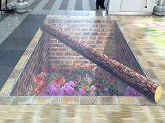 大阪ステーションシティ トリックアートc