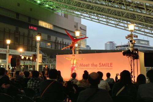 大阪ステーションシティ サーカスショー