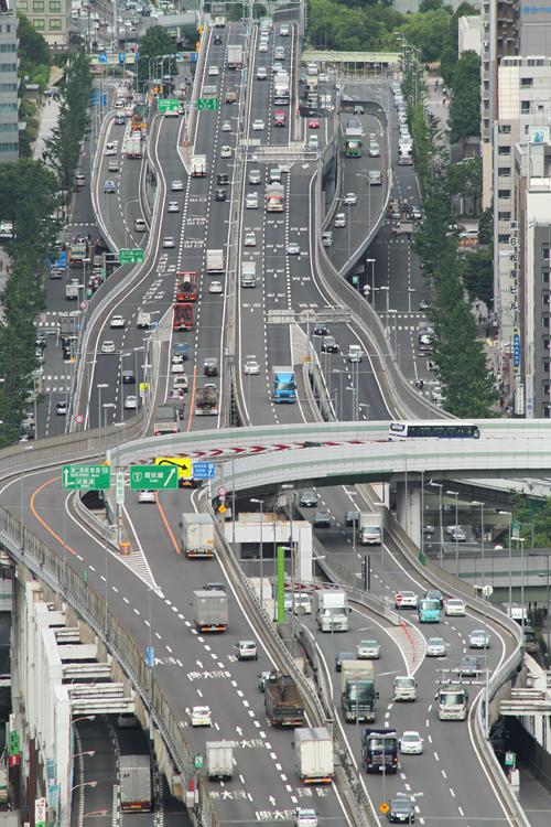 法円坂〜東船場ジャンクション