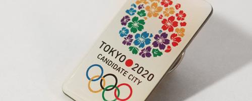 東京オリンピック TOKYO 2020 ピンバッジ