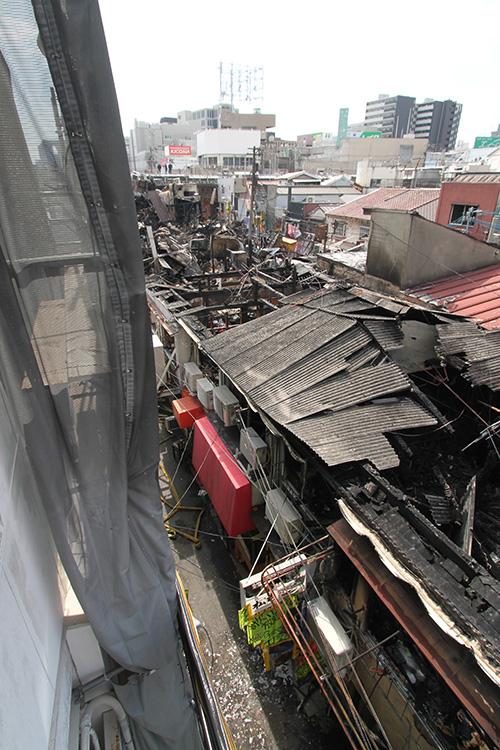 しょんべん横丁で火事2