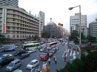 阪急百貨店前交差点