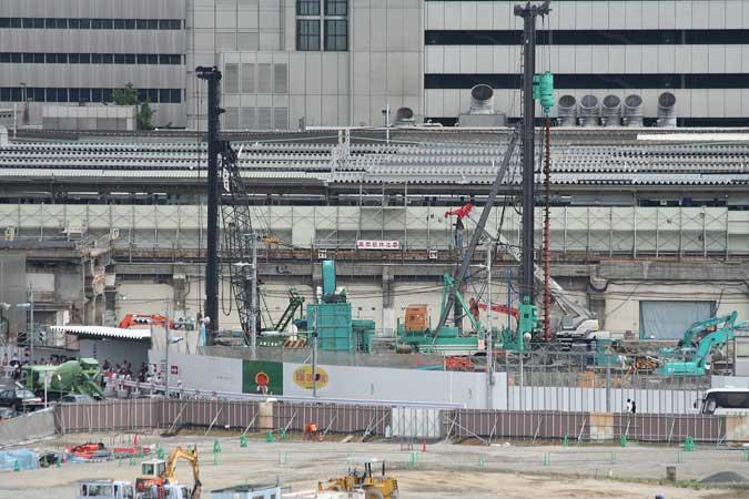 best loved bccf0 a92ed 大阪梅田の再開発をじっくりと定点観測してみるブログ   「高架躯体注意」