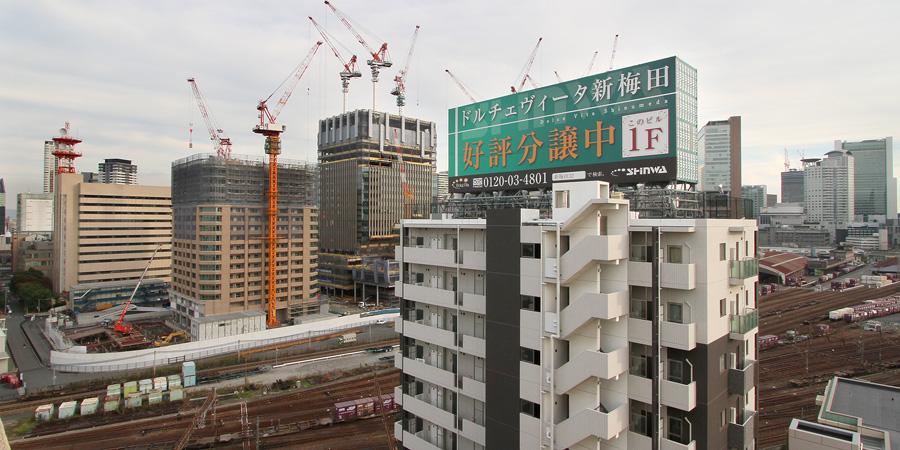 うめきた(梅北)2011年11月12日