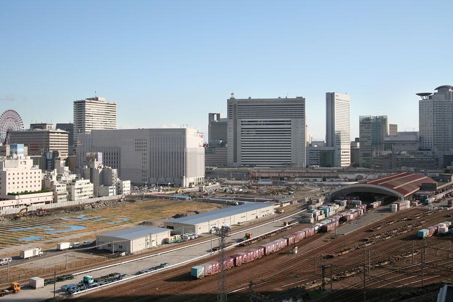 大阪梅田の再開発をじっくりと定点観測してみるブログ 2006年11月15日