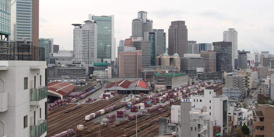 梅田北ヤード2010年12月16日